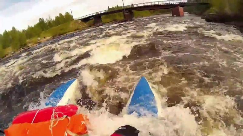 Спортивный сплав по рекам Кольского пол-ва май-июнь 2018 года