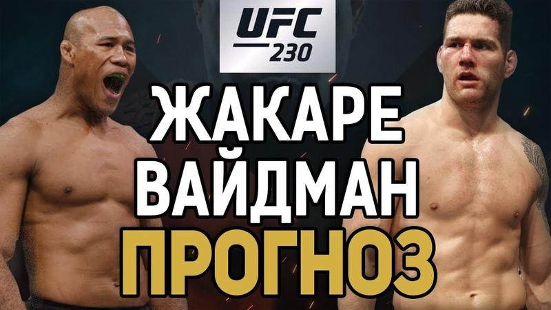Крис Вайдман - Роналдо Жакаре Соуза / Прогноз к UFC 230