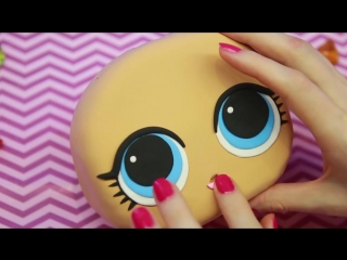ОГРОМНАЯ кукла ЛОЛ Игрушка Антистресс своими руками КОНФЕТТИ ПОП LOL SUPRISE CONFETTI POP Showbaby