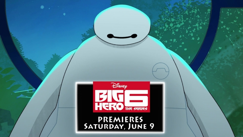 Город героев Сериал Big Hero 6 The Series 1 сезон Тизер 2018 1080p
