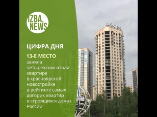 13-место в рейтинге самых дорогих квартир