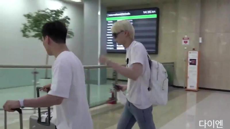 [Fancam] 180625 VIXX Leo on Gimpo Airport