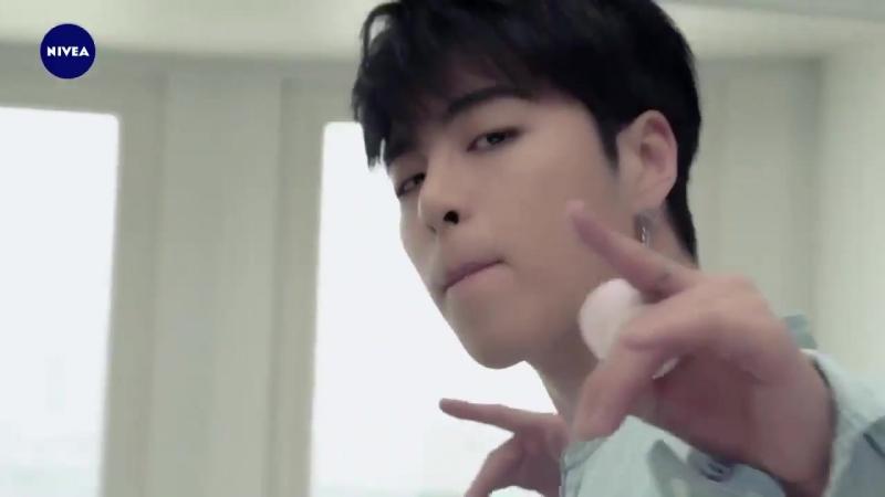 NIVEA 니베아 팝볼 광고 아이콘 iKON - - 아이콘 보는거 매일 즐거워 짜릿해 - 새로운 즐거움의 iKON 개짱문구