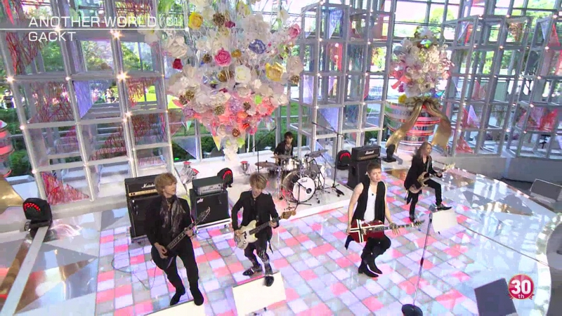 Gackt – Another World - Music Station (2015.09.23) HD 60fps