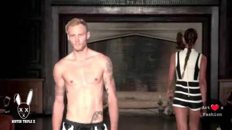 One Rose by Mister Triple X at Art Hearts Fashion NYFW SS16