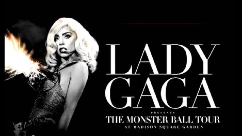 Lady Gaga. Monster Ball Tour At Madison Square Garden