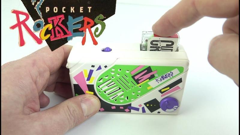 Pocket Rockers - 1980s endless loop tapes for kids