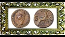 Асс 40 н э Монета Калигулы Древний Рим Ass 40 AD