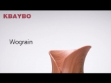 KBAYBO Air Humidifier Essential Oil Diffuser + Aroma Lamp