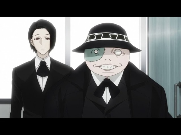 Tokyo Ghoul re Episode 8 Furuta Nimura moments RAW
