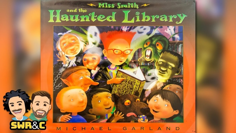 HALLOWEEN BOOK   Miss Smith And The Haunted Library by Michael Garland   READ ALOUD