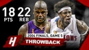 The Game Ben Wallace DESTOYED Shaquille O'Neal Full Game 5 Highlights vs Lakers 2004 Finals CRAZY