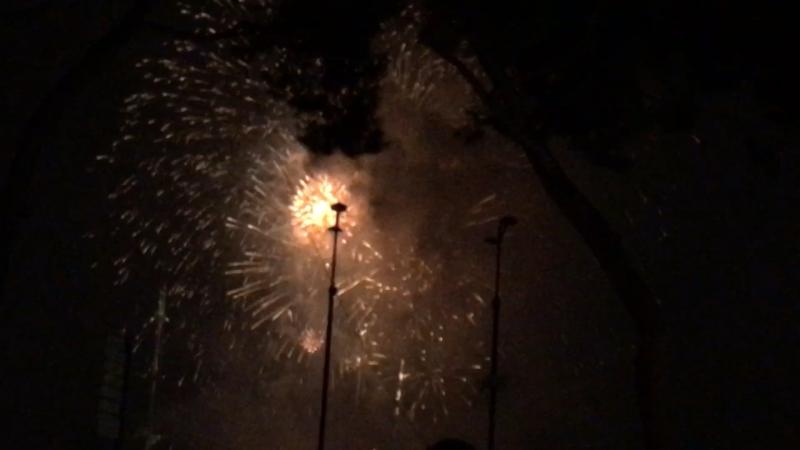 Festival des feux d'artifice à Monaco