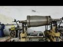 Балансировка промышленной центрифуги.