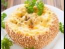 Булочки фаршированные грибами булочкисгрибами завтрак закуска