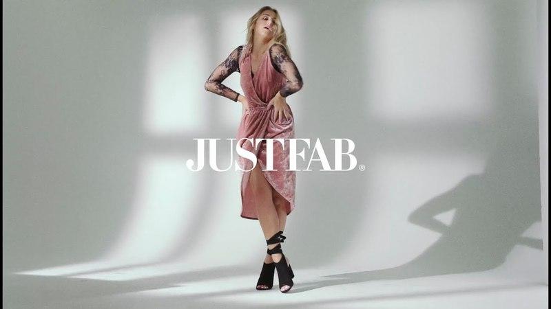 JustFab X Chloe Lukasiak