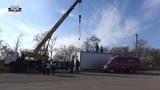 МККК передал МЧС ДНР модуль-контейнер для его размещения на КПП Октябрь