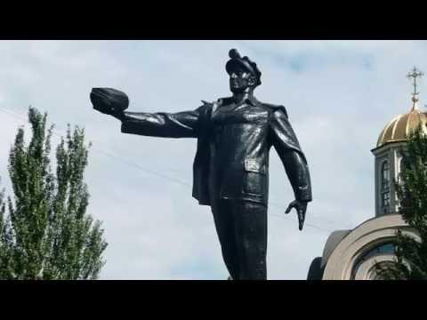 Марш шахтеров Донбасса