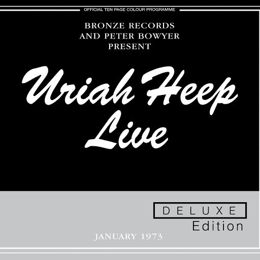 Uriah Heep альбом Live (Expanded Deluxe Edition)