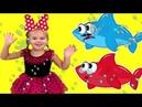 Baby Shark DANCE Nursery Rhymes Fun for Children vlad and nikita