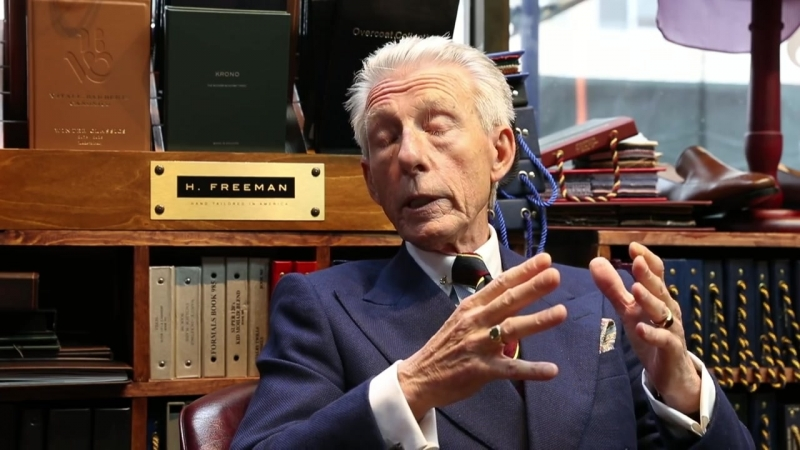 Speaking Style With Edward Sexton _ Interview With Savile Row Legend