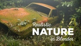 Create Realistic Nature in Blender (Graswald Add-on)