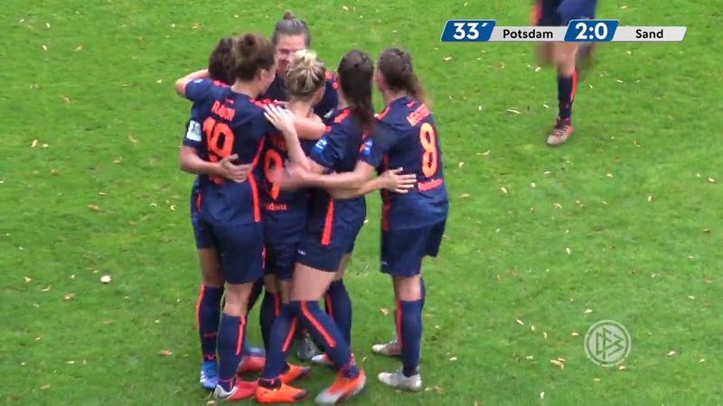Turbine Potsdam 2 – 0 Sand - Match highlights - Bundesliga (23rd September 2018)