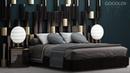 №112. Моделирование кровати Set bed в 3d max и marvelous designer