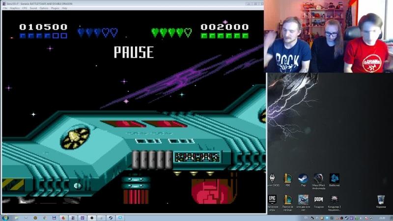 Доктор Владимирович и Узник 90-х. Sega Mega Drive.