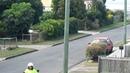 Magpie swooping Postman!!