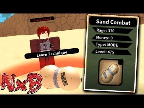 Обзор на Песчаный бой | Roblox NRPG Beyond | Sand Cobmat