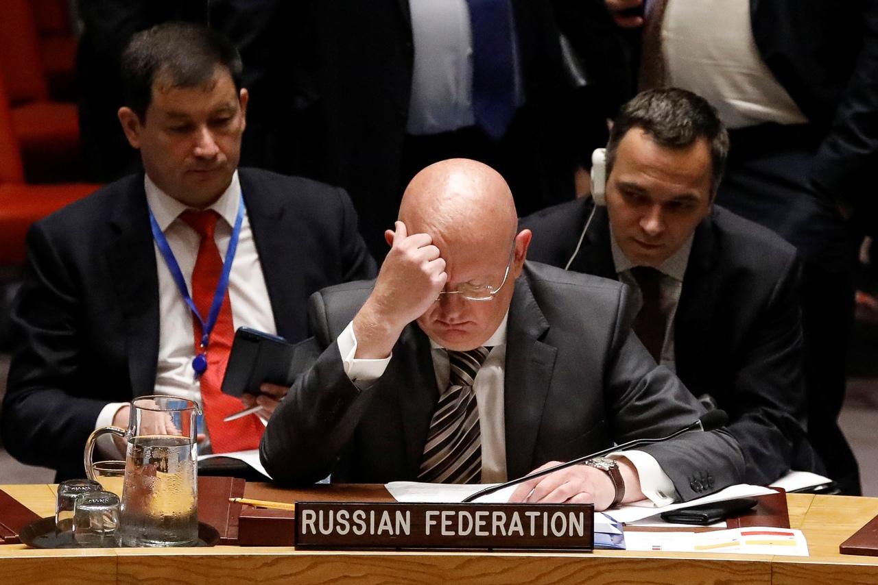 В постпредстве России при ООН прокомментировали заявление Украины о праве вето