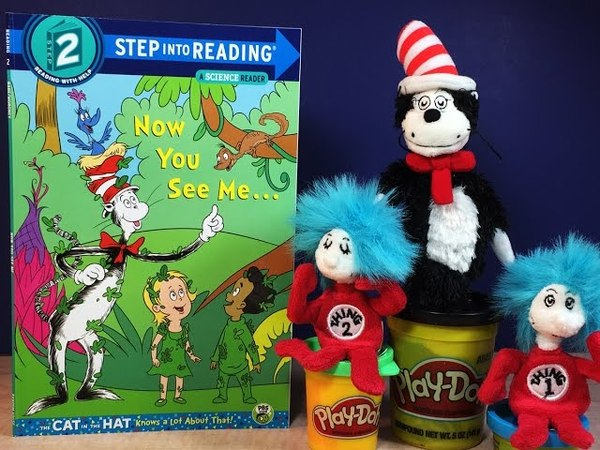 Now You See Me A Cat in the Hat book by Tish Rabe and Christopher Moroney