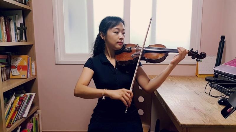 스즈키 1권 무궁동 가장조 바이올린 연주 김민정-바이올린 레슨-바이올린 배50