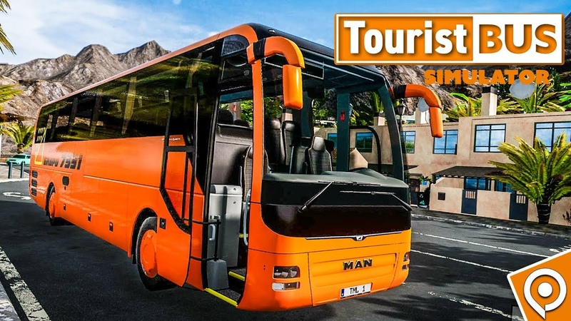 TOURIST BUS SIMULATOR: MAN Lion's Coach Reisebus fahren auf Fuerteventura!