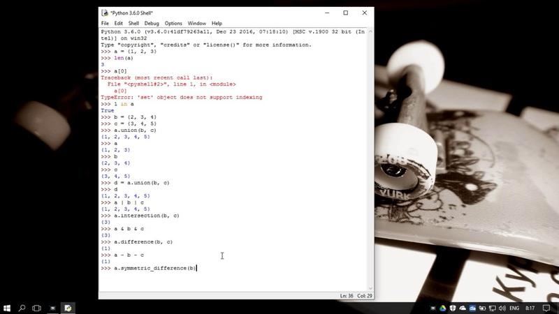 41. Методы работы со множествами set и frozenset в Python 3 - sets methods (Уроки Python) RU