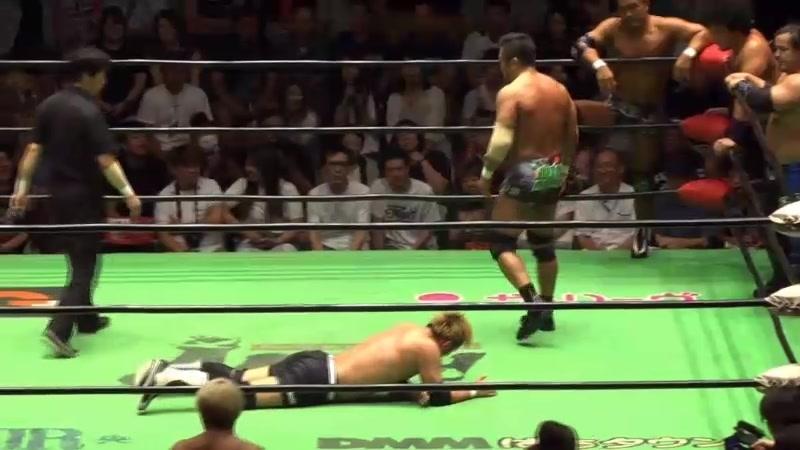 Mohammed Yone, Quiet Storm, Masato Tanaka, Takashi Sugiura vs. Atsushi Kotoge, Go Shiozaki, Kaito Kiyomiya, Kenou (NOAH)