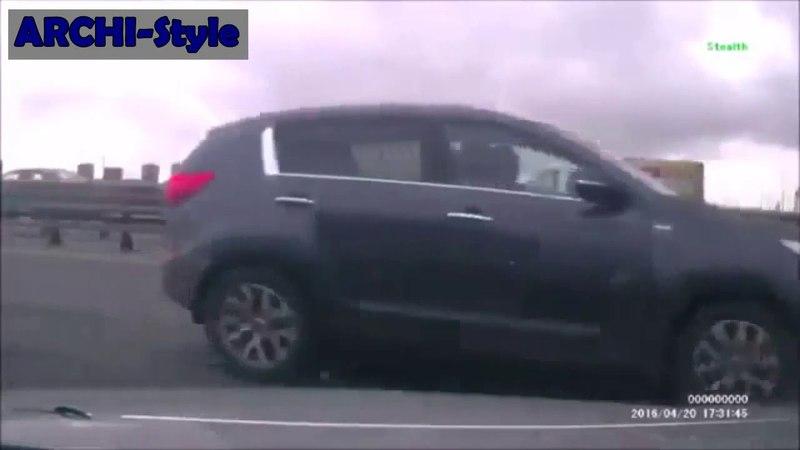 Авария На КАДе в Санкт Петербурге