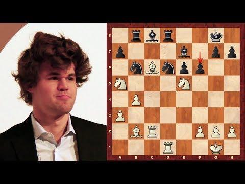 Chess Struggle! Magnus Carlsen vs Sergey Karjakin - Sinquefield Cup 2018 Rd 2