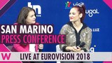 San Marino Press Conference Jessika featuring Jenifer Brening