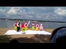 выступление на берегу Волги 14 июля 2018г...сказка Белоснежка и семь гномов