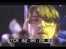 Kurt cobain spitting on camera