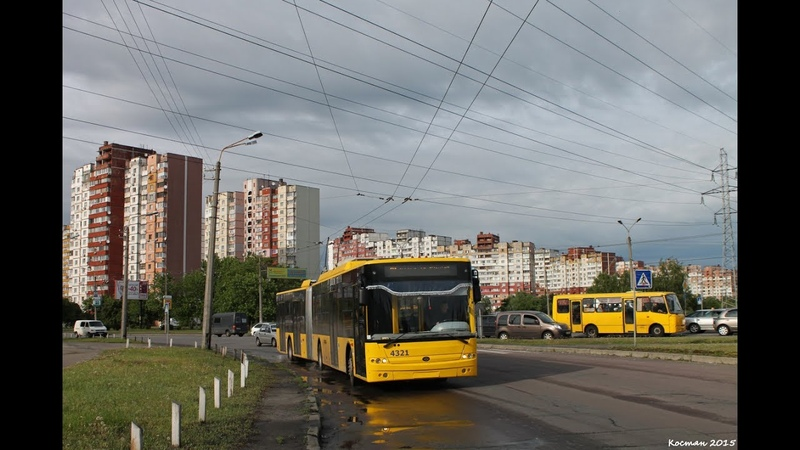 Троллейбус №30|Trolleybus №30 Вул. Кадетський гай - Вул. Милославська (2)