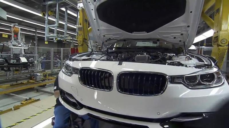Так собирают Ваш БМВ 3 серии.Assembling your car BMW-3