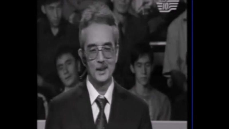 Евгений Балашов и Талгат Жакубеков в игре Кто возьмет миллион 2005 год