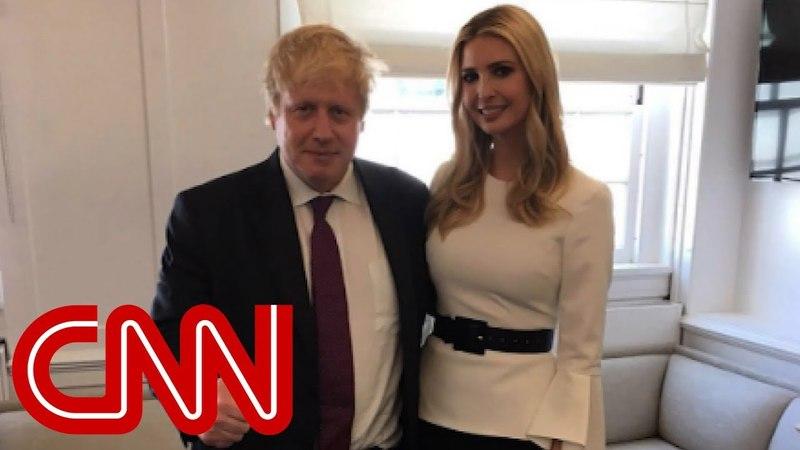 Trump's lookalike gets photo op with Ivanka