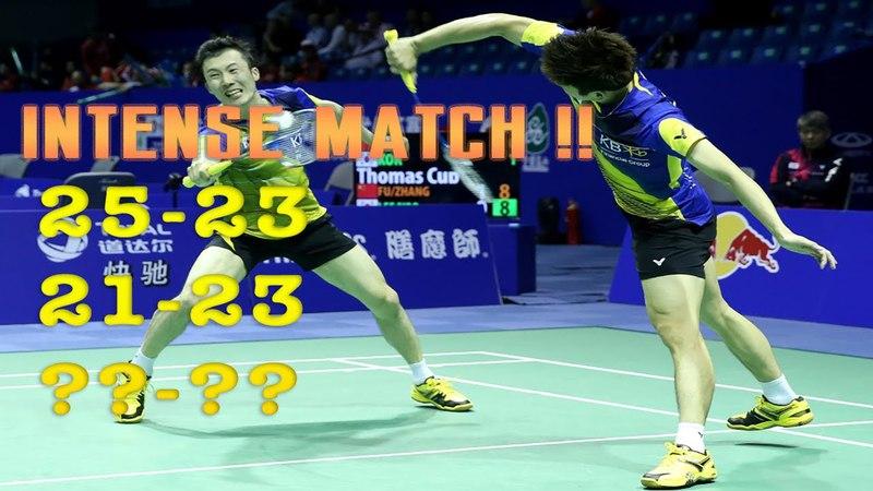 LEE YONG DAE YOO YEON SEONG vs FU HAI FENG ZHANG NAN | Thomas Cup 2016