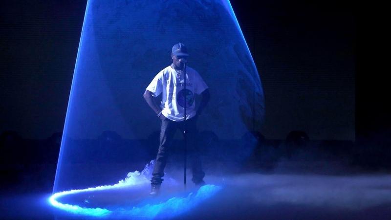 Выступление Travi$ Scott с треком «SICKO MODE» на «The Ellen Show»