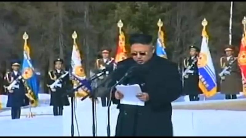 Speechless Speech KIM JONG UN