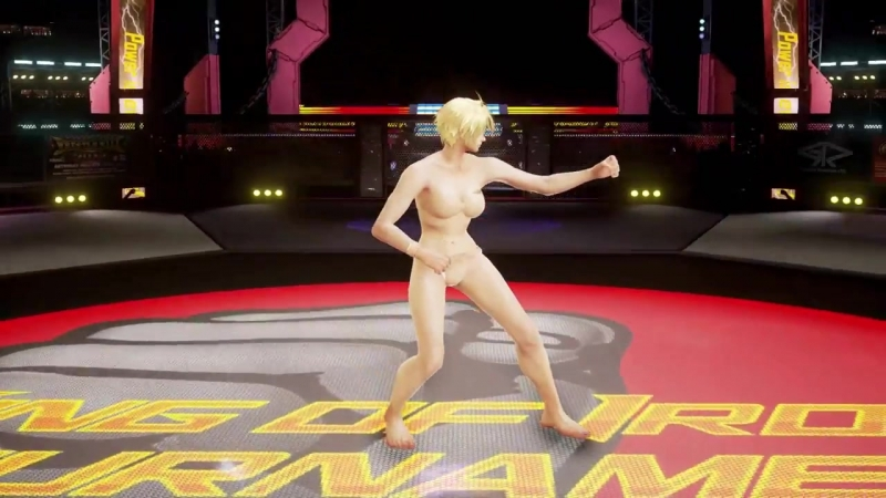 Barefighter Showcase Mods Barebrawler Tekken 7 ryona Bryan winpose Part 1 Lili and Leo Barefighter Skincolored Bikini